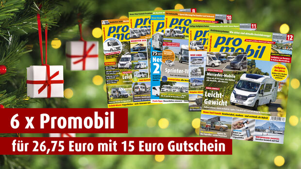 Weihnachtsaktion promobil 2019