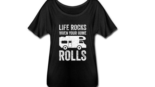 Weihnachtsgeschenke Camping: T-Shirt