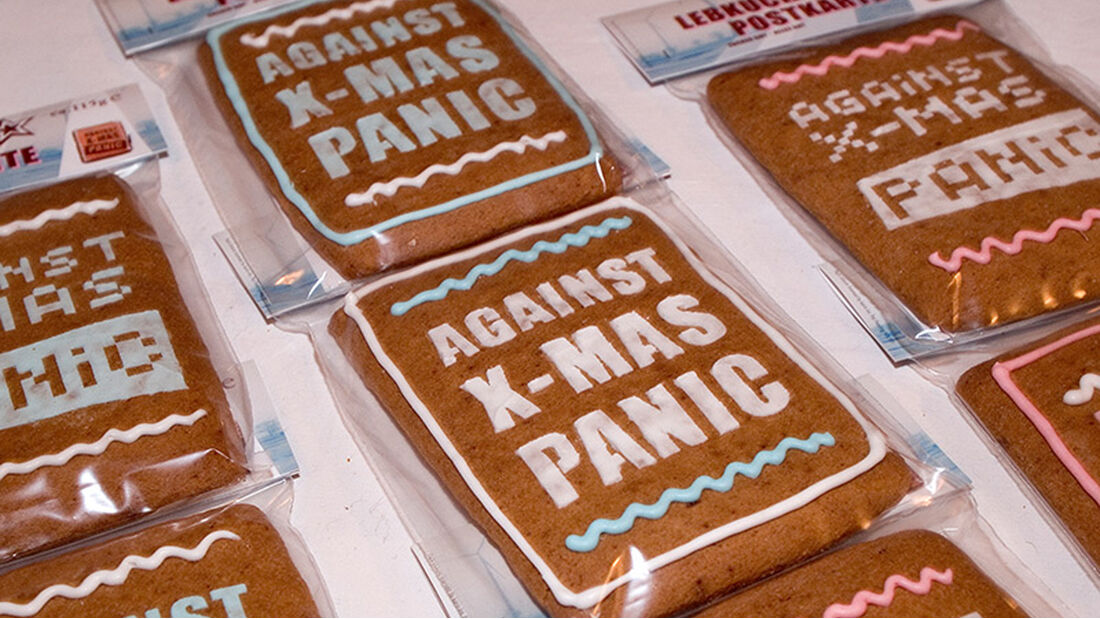 Weihnachtsmakrt HolyShit.Shopping Kekse