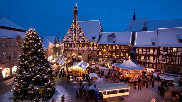 Weihnachtsmarkt in Forchheim