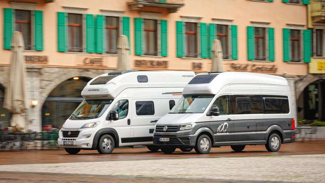 Weinsberg Carabus 600 MQH vs VW Grand California 600