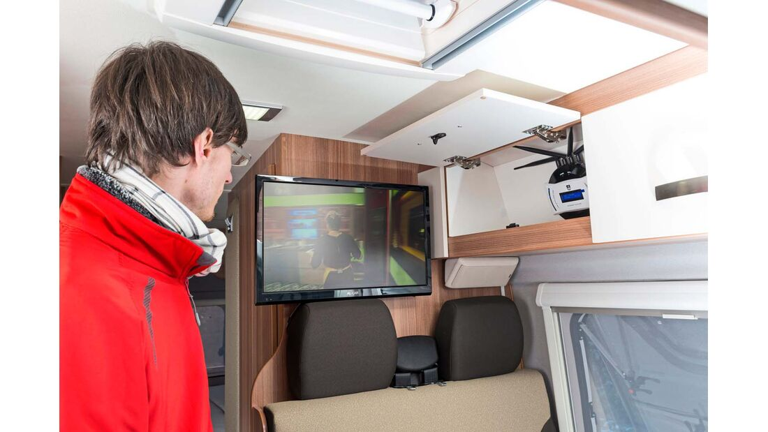 Weinsberg Carabus 601 MQ 22-Zoll-Fernseher Al-Car Easi-TV-Serie