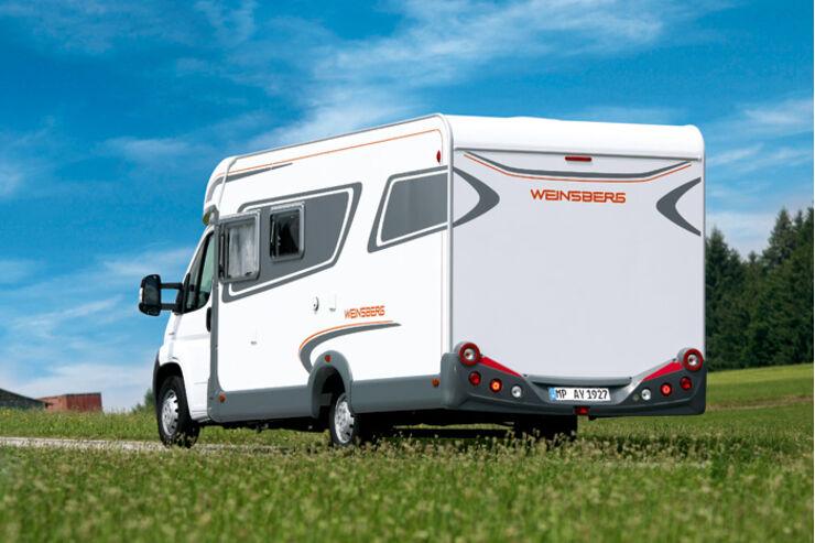 Weinsberg TI Modell 2010 Heckansicht
