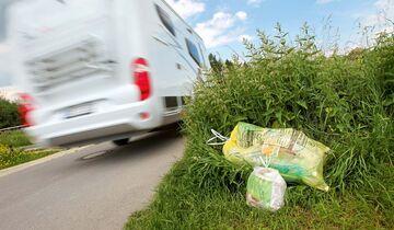Wer Müll liegen lässt, bringt alle Reisemobilisten in Misskredit.
