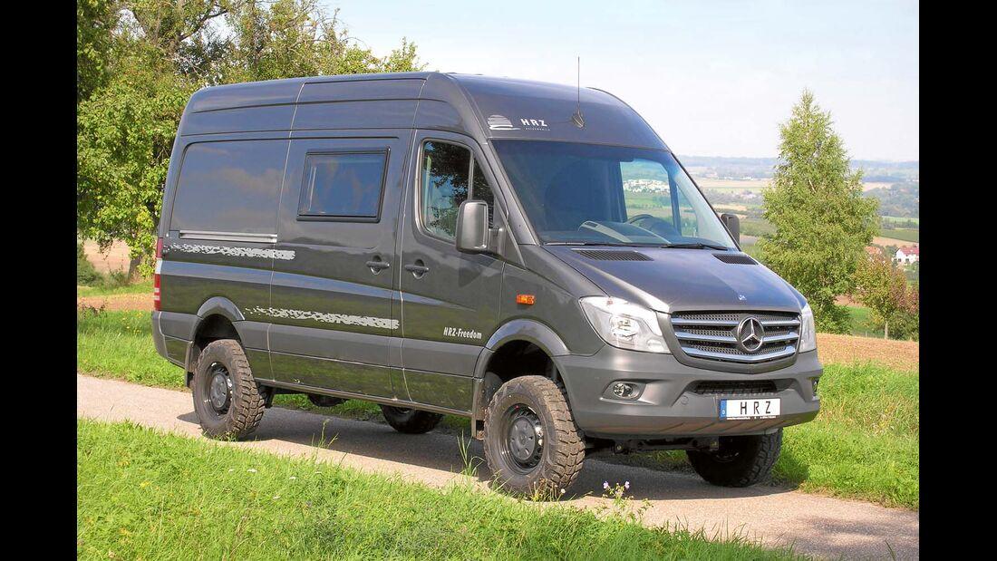 Wer mehr Komfort sucht, der ist mit einem ausschließlich als Reisefahrzeug ausgebauten Mobil sicher besser beraten.