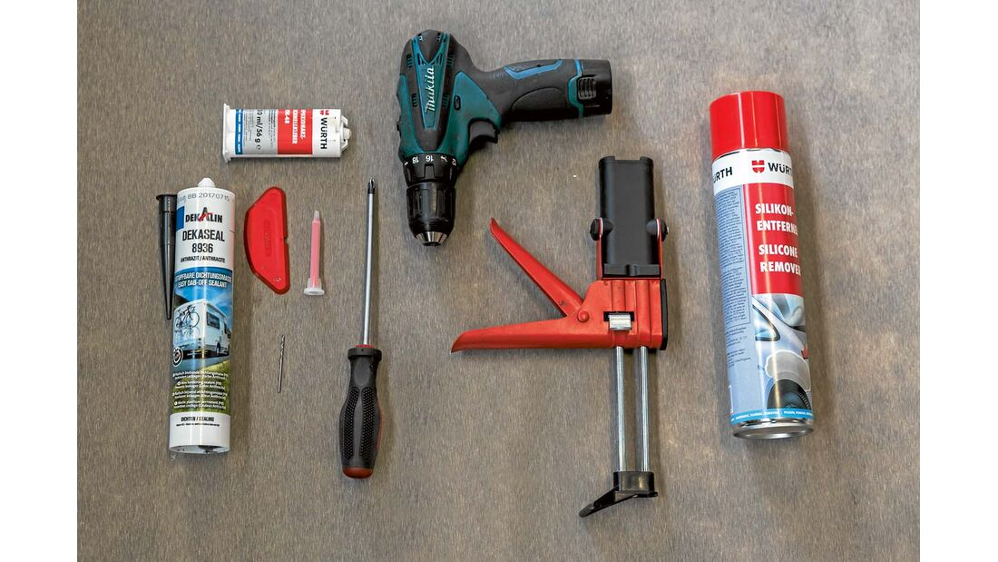 Werkzeuge und Materialien