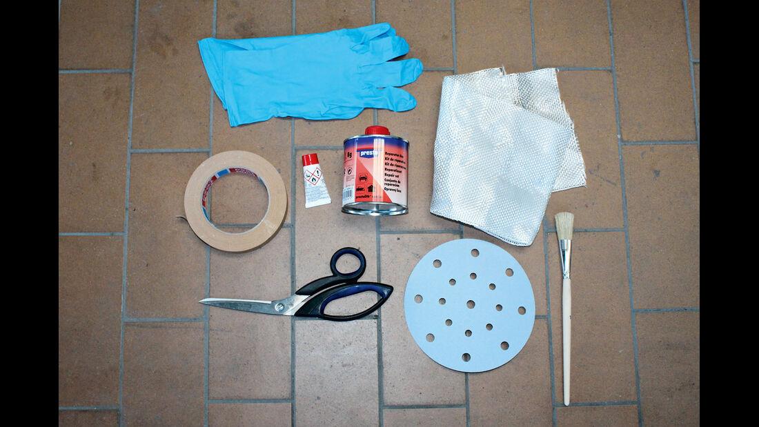 Werkzeuge und Materialien: Diese Dinge benötigen Sie.