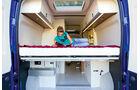 Westfalia Columbus Baureihe Modell 2010 Bett