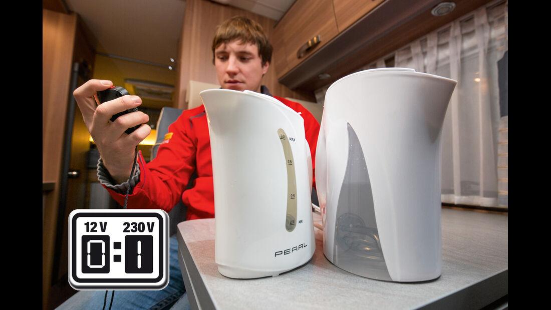 Wie lange dauert es, bis ein Liter Wasser kochend heiss ist?