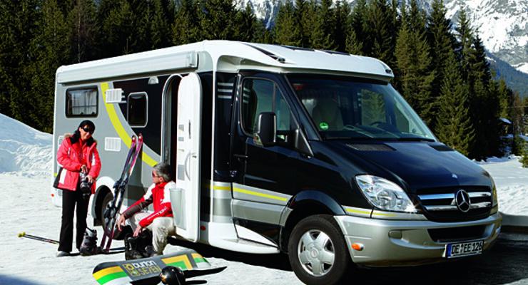 Wintercamping Saison Campingplätze wohnwagen wohnmobil reisemobil caravan