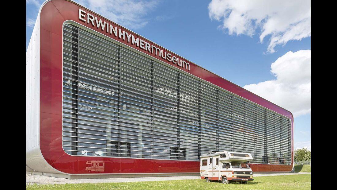 """Wir bedanken uns beim """"Erwin Hymer Museum"""" für die tolle Zusammenarbeit!"""