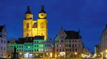 Wittenberger Marktplatz mit St. Marien.