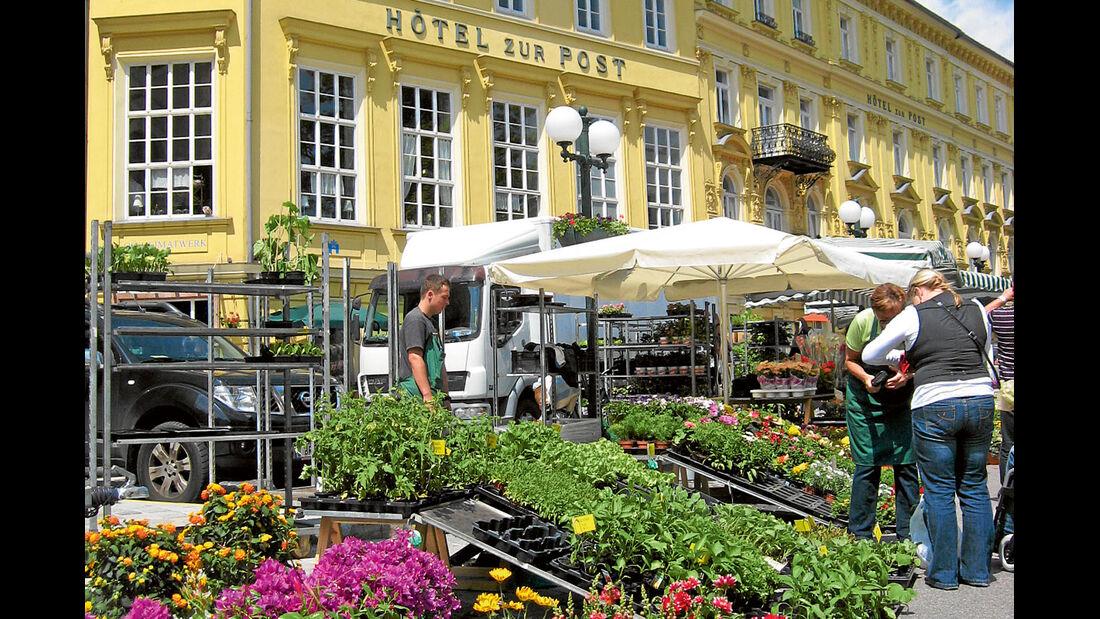 Wochenmarkt in Bad Ischl