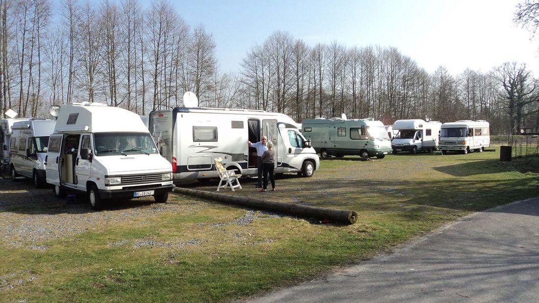 Wohnmobil Einzelfahrertreffen Gut Mentzelsfelde