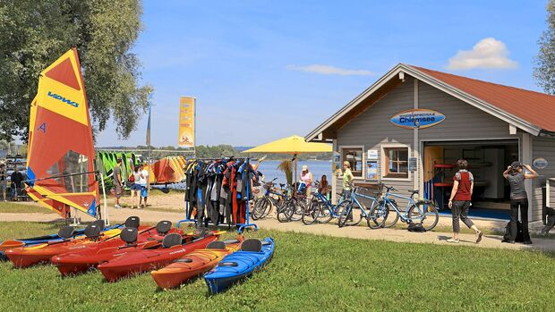 Wohnmobil-Reise Chiemgau