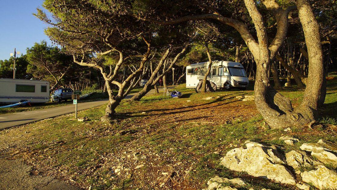 Wohnmobil-Reise Istriens