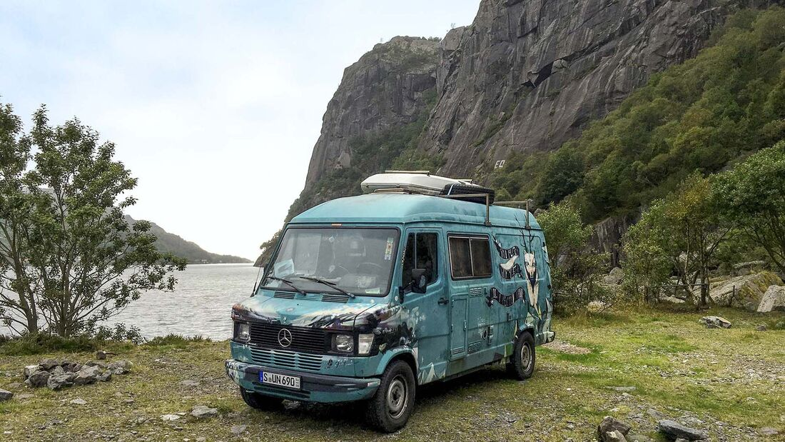 Wohnmobil-Reise Norwegen
