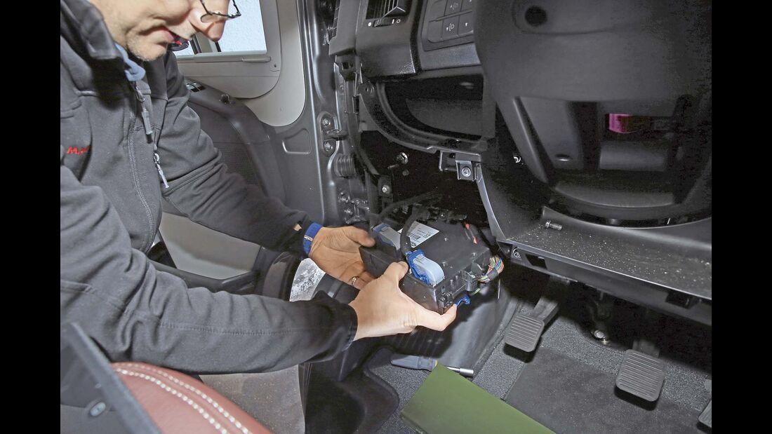 Wohnmobil Sicherheit GPS
