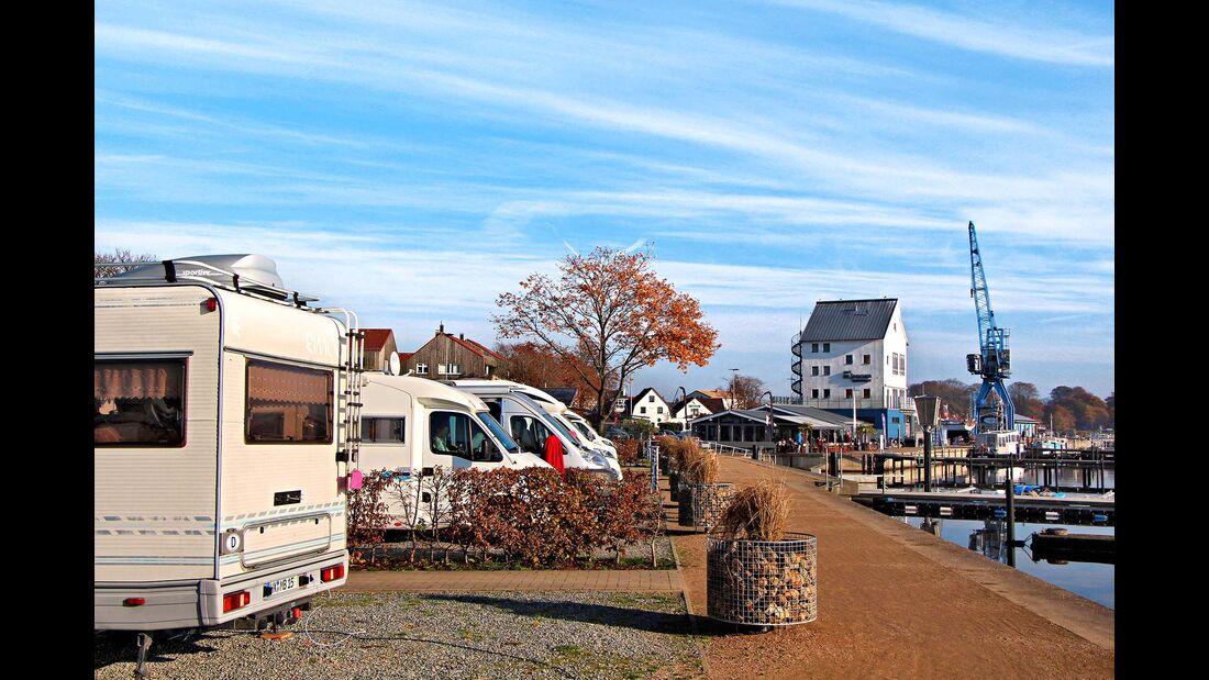 Wohnmobil-Stellplatz Am Stadthafen