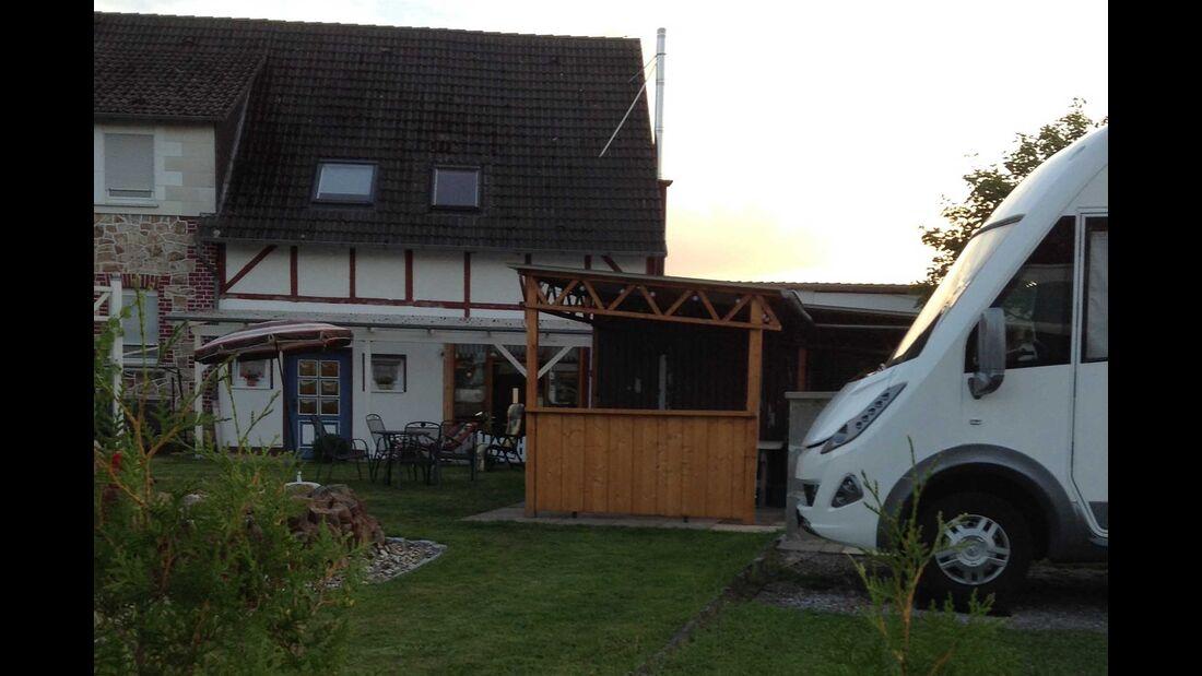 Wohnmobil-Stellplatz Hobbywiese, Korbach