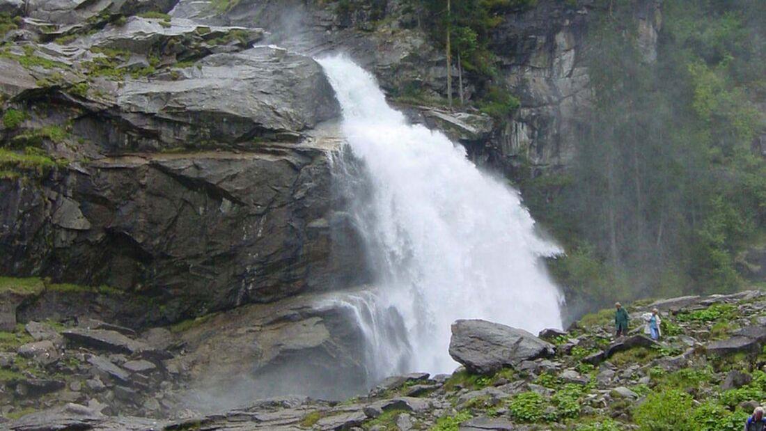 Wohnmobil-Tour Oberpinzgau