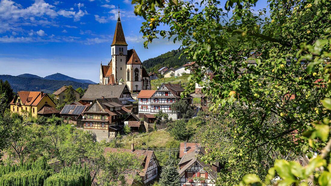 Wohnmobil-Tour Schwarzwald