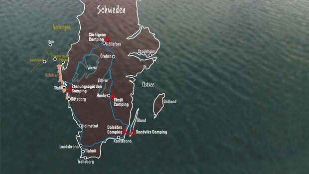 Wohnmobil-Tour Schweden