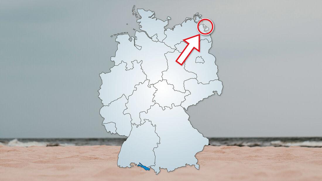 Wohnmobil-Tour Usedom: Urlaub an der Ostsee.