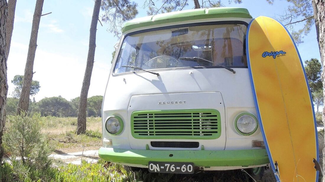 Wohnmobil-Vermietung Yescapa