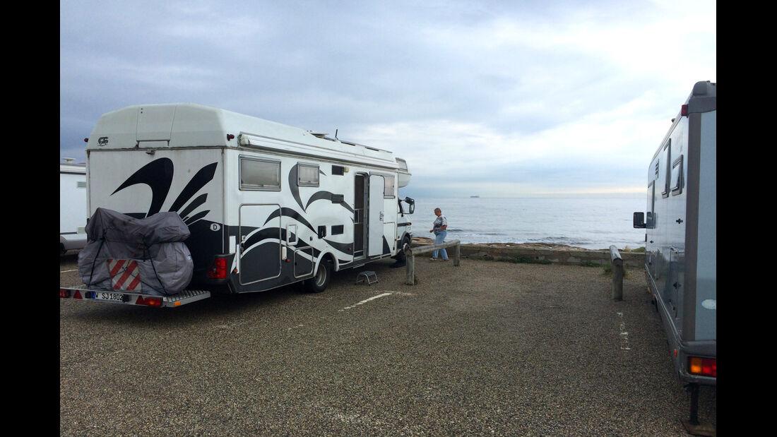 Wohnmobil am Meer