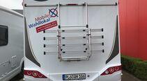 Wohnmobil mit Wahlkabine