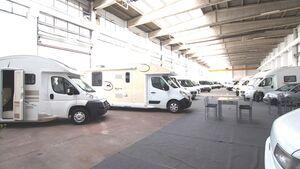 Wohnmobilcenter von Ahorn Camp.
