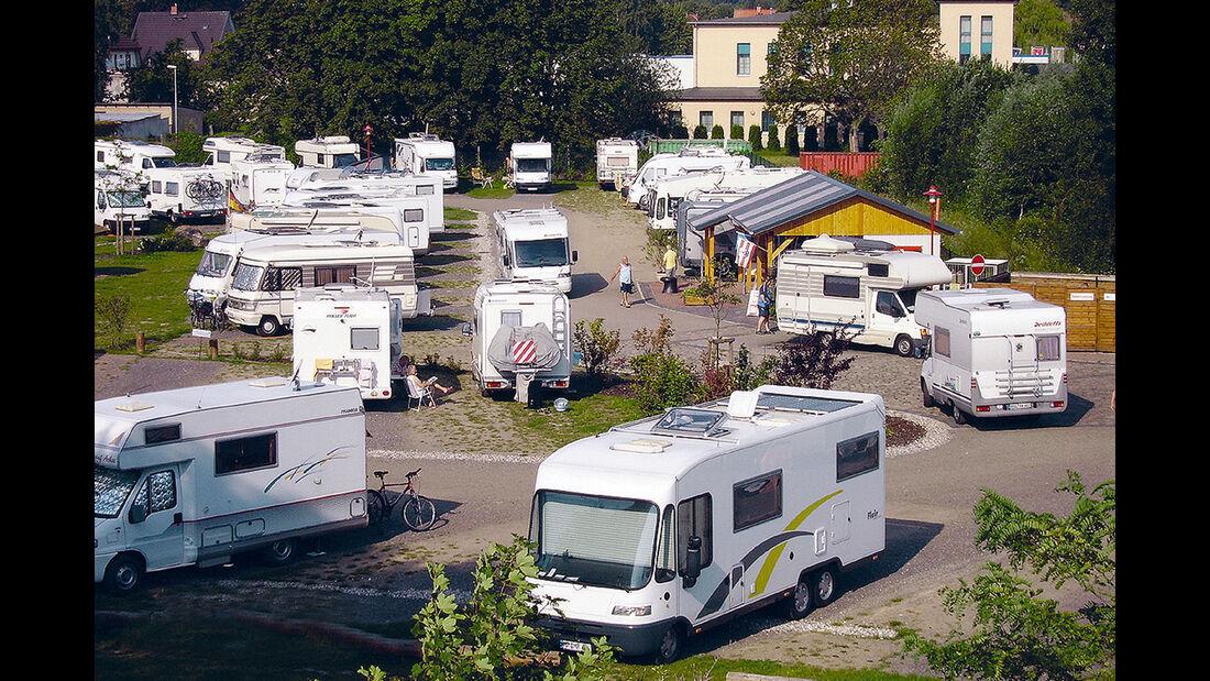 Wohnmobilpark Westhafen Wismar