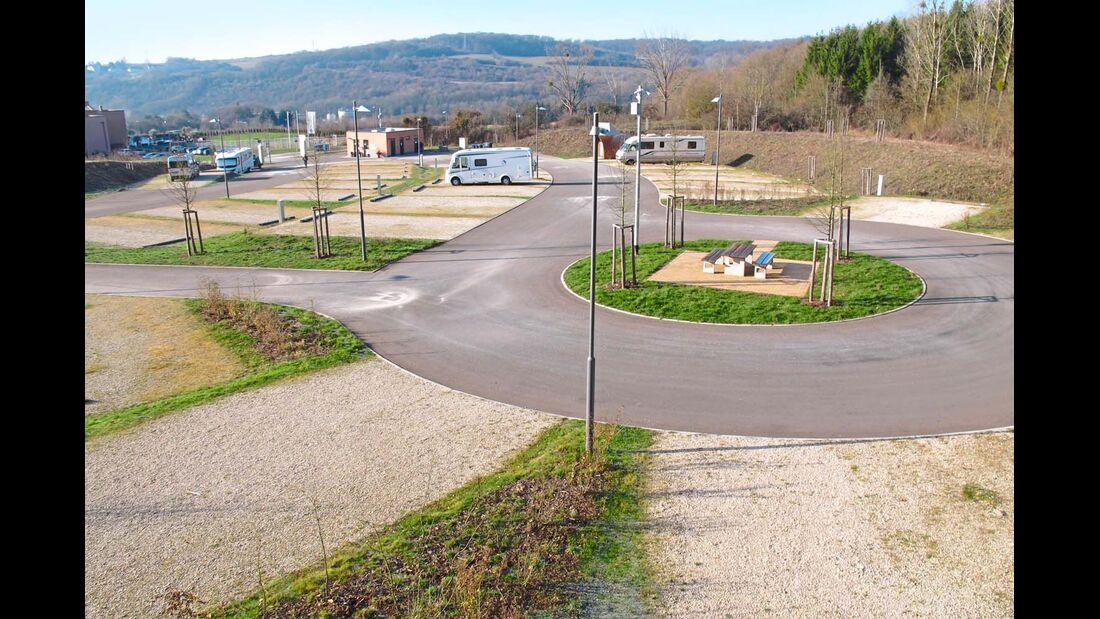 Wohnmobilpark im Saarland Thermen Resort