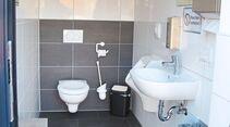 Wohnmobilpark im Saarland Thermen Resort Toilette