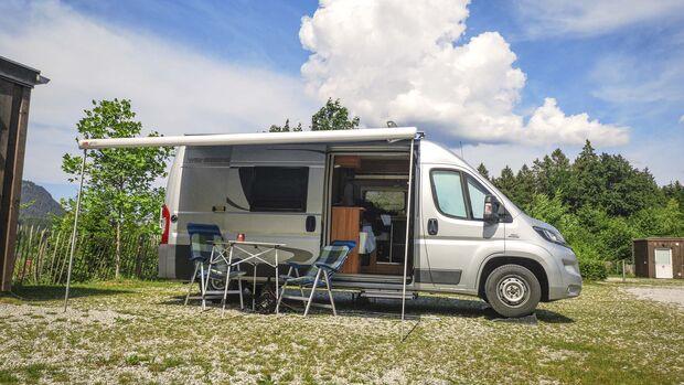 Wohnmobilreise Alpenvorland