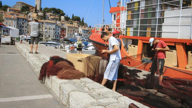 Wohnmobilreise in Istrien