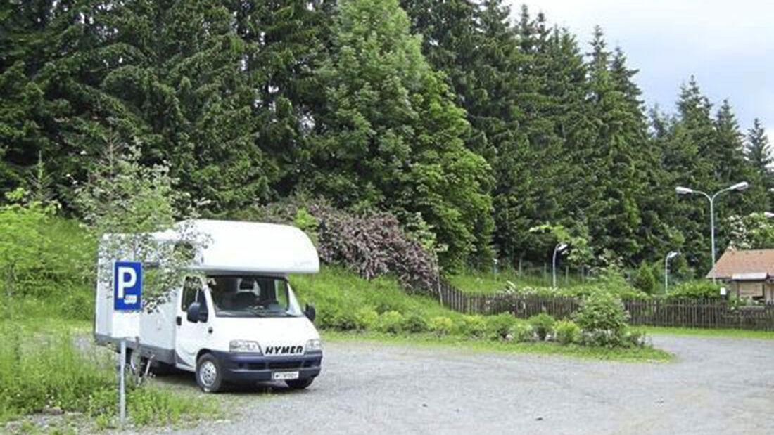 Wohnmobilreise in Spielberg in der Steiermark