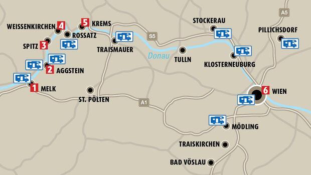 Wohnmobilreise nach Österreich