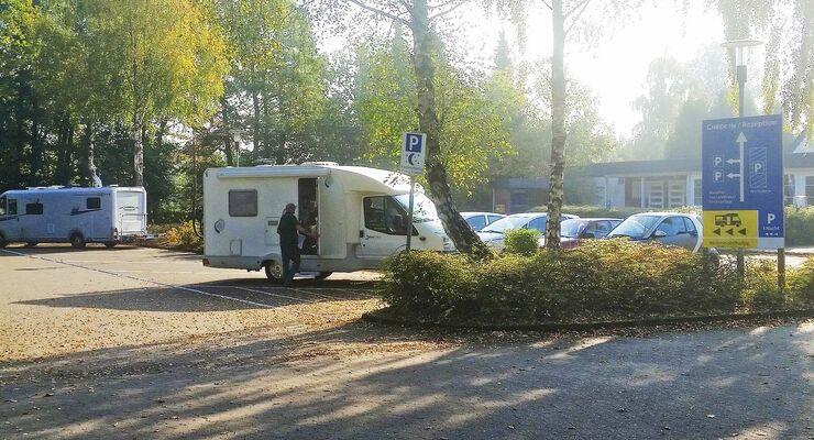 Wohnmobilstellpaltz an der Regenbogen Ferienanlage Bad Bederkesa