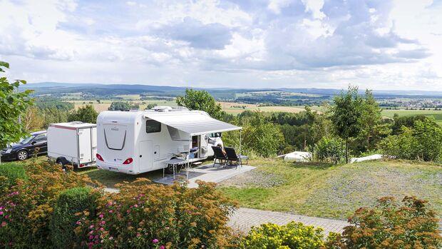 Wohnmobilstellplatz Camping Freizeithugl