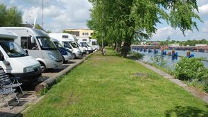 Wohnmobilstellplatz Förde- und Kanalblick Kiel