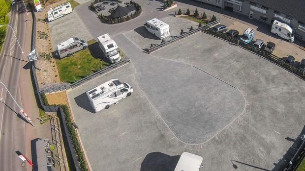 Wohnmobilstellplatz Stralsund