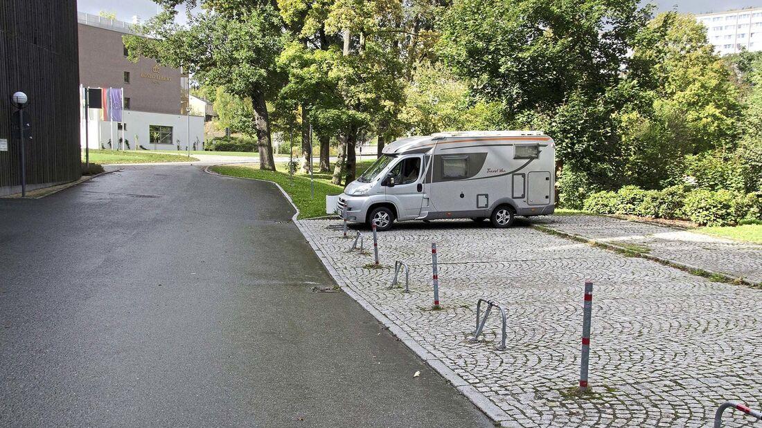 Wohnmobilstellplatz am Albert Bad