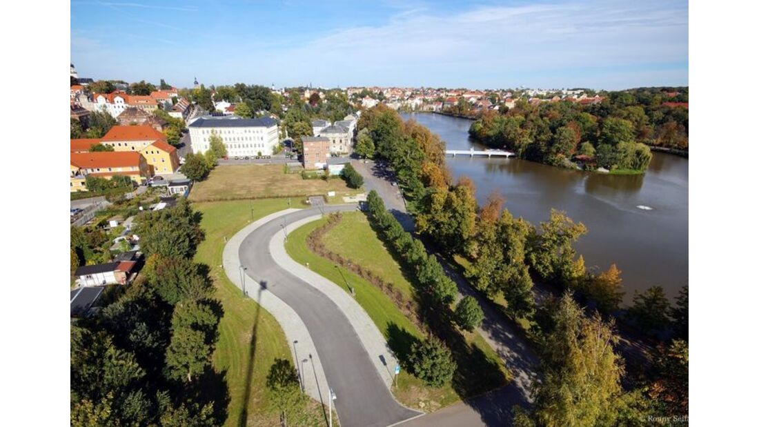 Wohnmobilstellplatz am Großen Teich