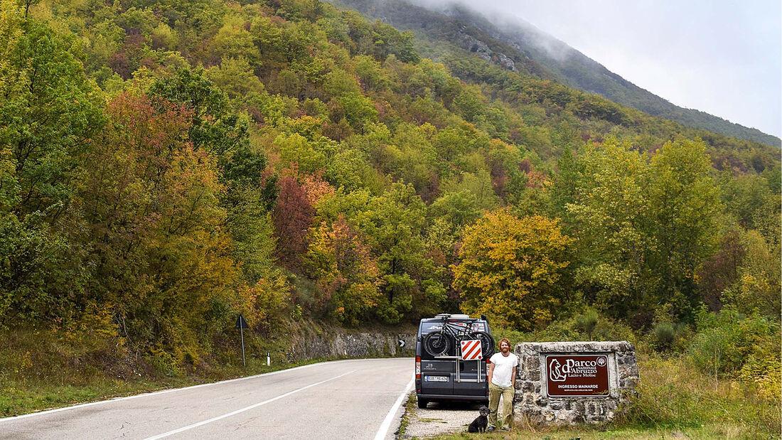 Wohnmobiltour Süditalien
