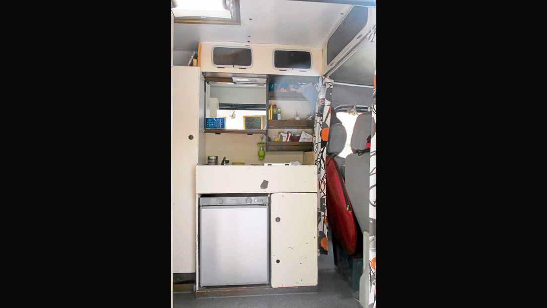 Wohnraum Campingbus Ben