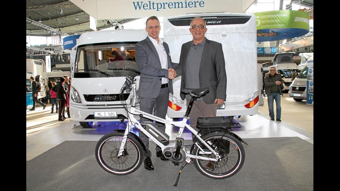 Wolfgang Esser-Mecke freut sich über Platz 1.