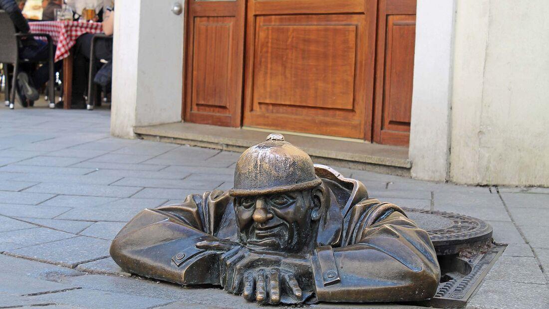 Womo-Reise Bratislava