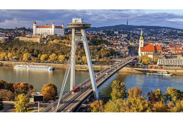 Das besondere Wohnmobil-Ziel Bratislava: Nostalgie, Moderne und ganz viel Charme